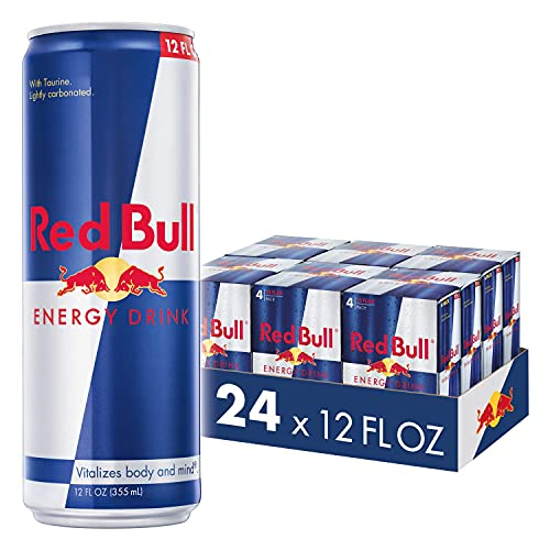 Red Bull Energy Drink 24 Pack of 12 Fl Oz (6 Packs of 4)