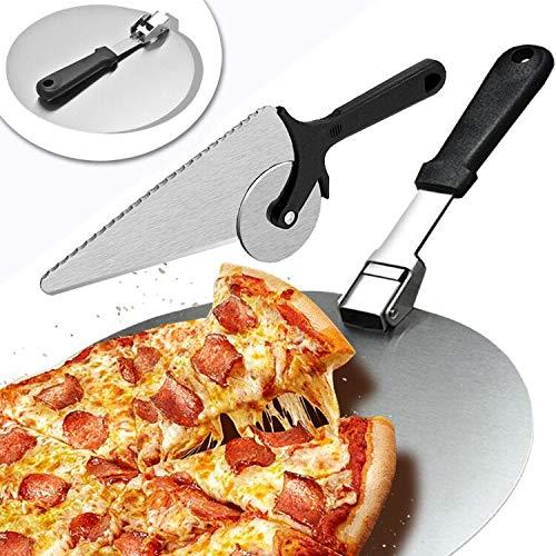 Pala Pizza Horno y Cortador Pizza, Pala Pizza Corta Pizza de