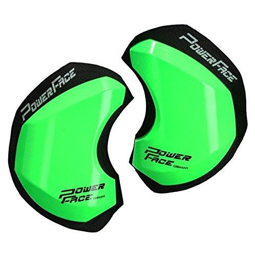 Power Face Bois des genoux – Race GP Vert Fluo