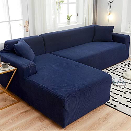 LLKK Funda de sofá de Moda,Funda de sofá,Funda de sofá elástica,Funda Universal con Todo Incluido Funda de Toalla Universal para sofá Nordic Art Four Seasons