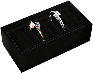 ECSWP SWGNSMQP Boîte à Bijoux - Bijoux Boîte Multifonctions Bague en Bois Bracelet Boucles d'oreilles Bijoux Boîte de Rang...