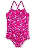 Sanetta Mädchen Swimsuit Badeanzug, Rosa (Heavy Pink 3875), 104