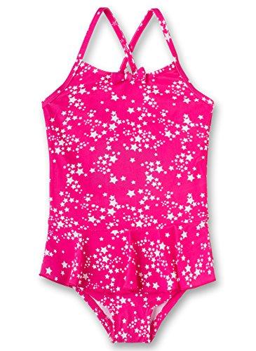 Sanetta Mädchen Swimsuit Badeanzug, Rosa (Heavy Pink 3875), 116