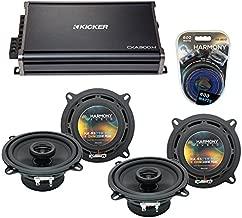 Replacement Car Audio Speakers for Mercedes E-Class 1998-2002 Harmony (2) R5 & CXA300.4 Amp (Renewed)