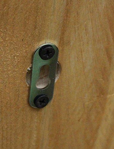 Dekorie Holz Gewürzregal hängend stehend braun geflammt Vintage - 2