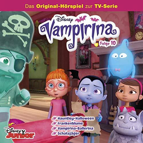 Hauntley-Halloween / Frankenblume / Vampirina-Ballerina / Schatzjäger Titelbild
