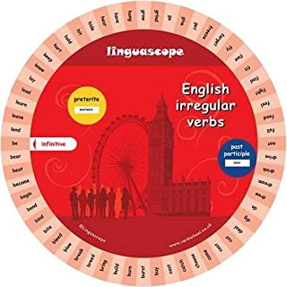 English Verb Wheel (Irregular Verbs)