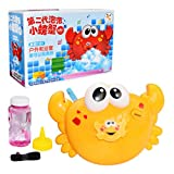 Summer Play Crab Bubble Machine Electric Bubble Bubble Music Bubble Machine (giallo)