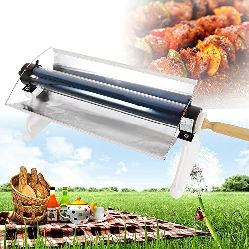 Fornello Solare Esterno Pieghevole Fornello Solare Forno Solare Grill Grill Solare Barbecue Gratuito per Picnic e Campeggio