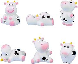 Kids Lo Figurines miniatures 5cm Super-Génisse et Le Rouge Cow and Chicken