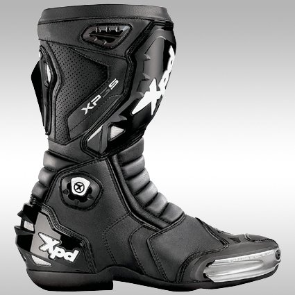 XPD(エックスピーディー) バイクブーツ ブラック (サイズ:27.5cm/43) XP-3S XPN018