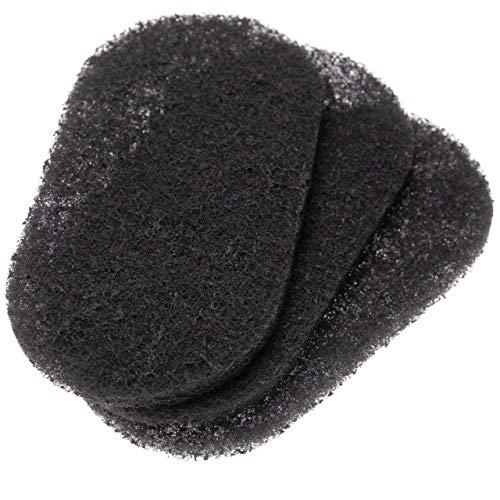 vhbw filtre à charbon actif filtre compatible avec Seb FR4000, FR401, FR401900/12, FR402, FR402100/12A, Fryn Twist, Simply Invents friteuses
