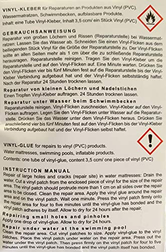 Blue Magic Wasserbetten Reparatur Set