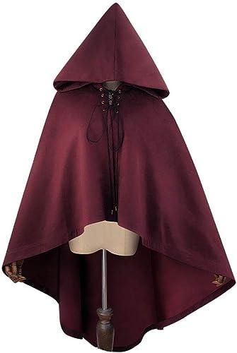 el más barato XINXIN Steampunk Halloween Halloween Halloween Imitación De Gamuza con Capucha Capa  comprar ahora