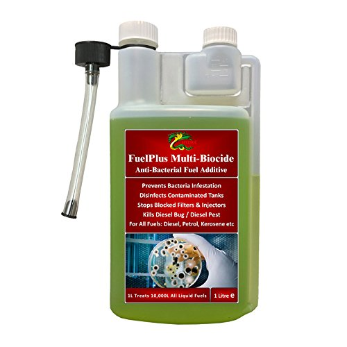 Hydra fuelplus Multi Biozid 1L + Marine + Boot + Bunker + Kraftstoff Bug Behandlung Zusatzstoff