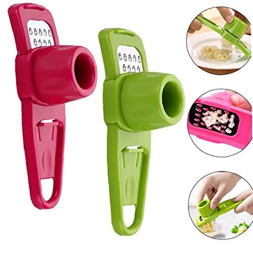 IUwnHceE El Ajo Rallador Multi Funcional Jengibre Ajo Ajo Grinder Mini Molino De Cuchillas Cocina La Herramienta para Los Accesorios De Cocina Color Al Azar