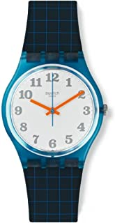 Swatch GS149 Back To School Blue Silicone Strap Watch