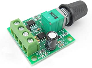 ALEDECO PWM Low Voltage Dc 1.8v 3v 5v 6v 12v 2a Motor Speed Controller
