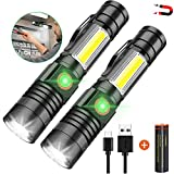 LED Flashlight Rechargeable, 1000 Lumens Super Bright Magnetic...