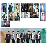 VT Cosmetics x BTS/BTS PHOTO CARD & POSTER (BTS 7 Photocards A&B TYPE (Size:108x148/A6 Size), Photo Poster (Size:594x210mm) Fanart Bangtan Boys for The BTS A.R.M.Y. (594x210 / 108x148 A&B)
