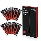 TYCKA Kit de Limpieza del Sensor de La Cámara APS-C Hisopos Húmedos de 16mm para DSLR, Lentes, Gafas Ideal para Absorber y Barrer Partículas y Manchas Invisibles 12 Piezas