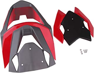 Gazechimp Front Upper Fairing Headlight Cowl Nose Kit for GROM MSX125SF MSX125 - Red