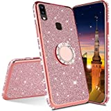 MRSTER Samsung A10 Case Glitter Bling Bling TPU Case With