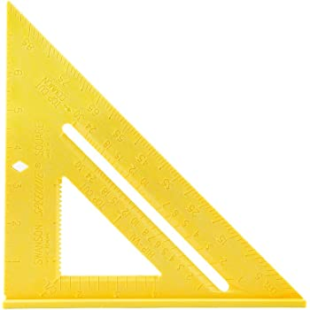 Swanson Tool T0119 Speedlite Square, Yellow