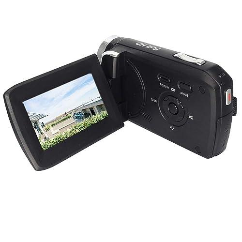 """GDV5250 Caméra vidéo numérique 1080P Full HD Caméscope DV avec Batterie Rechargeable / 2,7"""" TFT LCD / 270 degrés de Rotation pour Enfants/débutants / Personnes âgées Cadeau de Noël"""