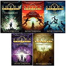Seven Wonders Book Series 5 Book SET including the Colossus Rises through the Legend of the Rift