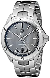 TAG Heuer Men's WAT2015.BA0951 Link Analog Display Automatic Silver Watch Review and For Your and review image