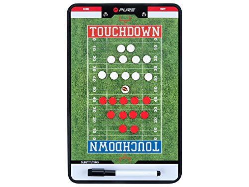 Pure2Improve Unisex's American Football Coach Board, Green, One Size