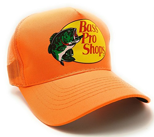 Bass Authentic Pro Mesh Fishing Hat Adjustable, One Size Fits Most
