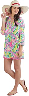 Lacey Pom Pom Cover Up, Pink