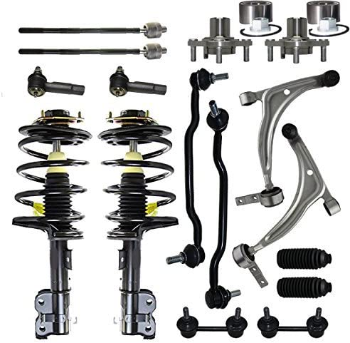 Max 84% OFF Max 71% OFF Detroit Axle - Front Struts + Arms Hubs Control Lower Wheel