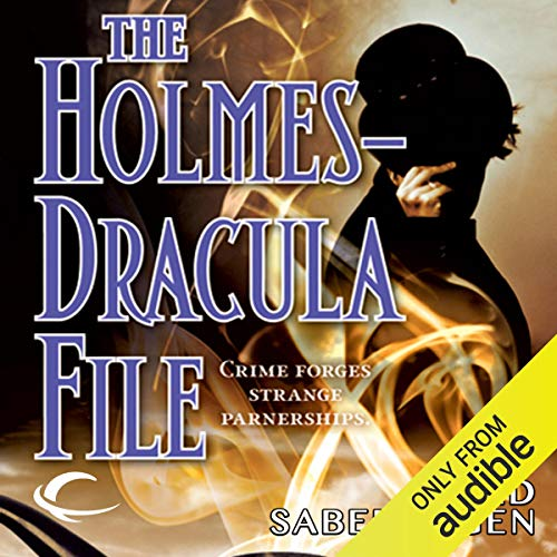 The Holmes-Dracula File audiobook cover art