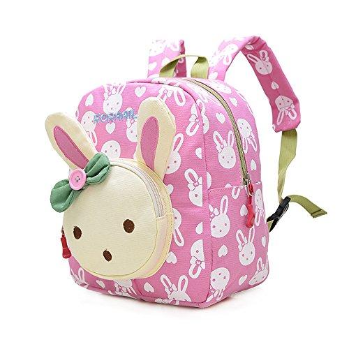 Mochila Infantil/PequeñA Bebes Guarderia Bolsa Lindo Conejo Animales Bambino...