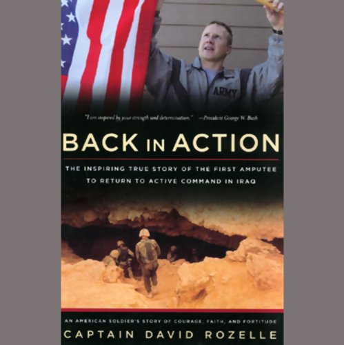 Back in Action audiobook cover art