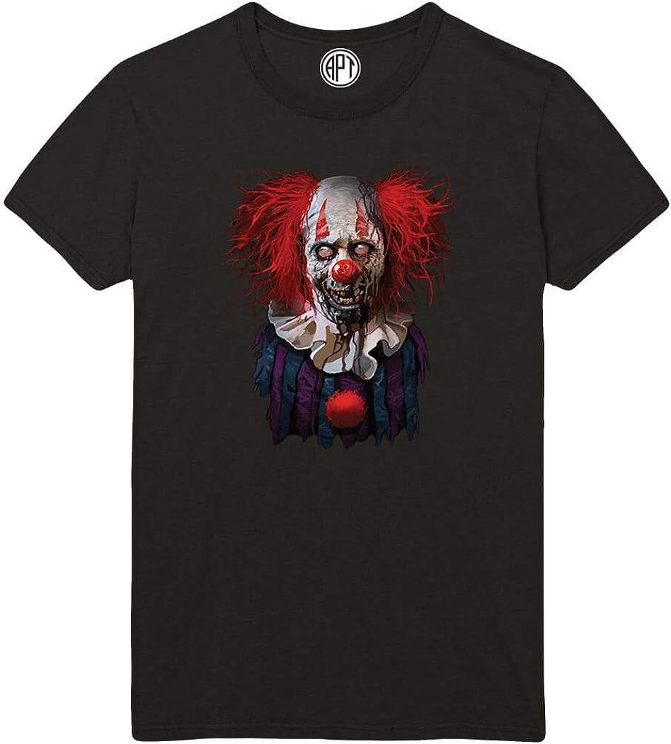 Zombie Clown Printed T-Shirt