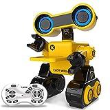 Robots Interactif Jouets Pour Enfants- Notre robot RC est un excellent partenaire de robot pour vos enfants. Ce robot jouet peut marcher, danser, jouer de la musique, envoyer des cadeaux, enregistrer de la voix.Un grand choix de cadeau pour les enfants.