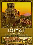 PostersAndCo TM Royat Auvergne Poster / Kunstdruck, 80 x