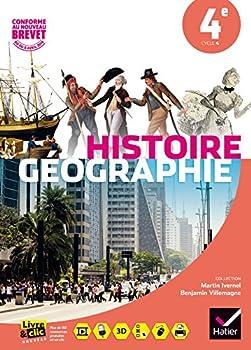 Paperback Histoire-Géographie 4e éd. 2016 - Manuel de l'élève (Histoire-Géographie Collège) (French Edition) [French] Book