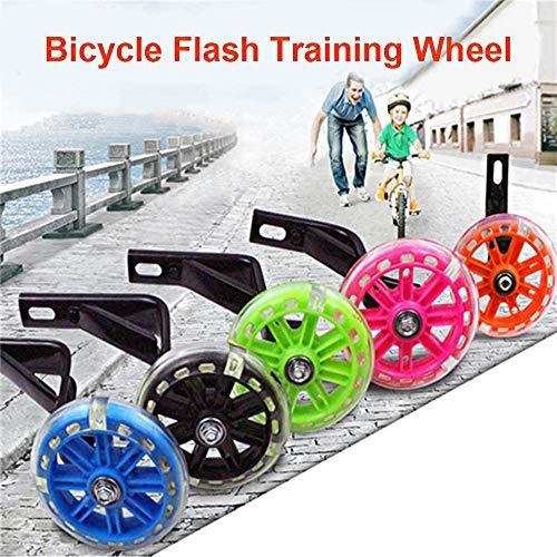 Fahrrad-Trainingsräder, Universal Junior Wheel Stabilisator, Auxiliary Wheel Stand Kinderrad-Trainingsräder Teile-Notwendige Sicherheit und Stabilität-für 12 14 16Inch Kids Riding Equipment(16) - 5