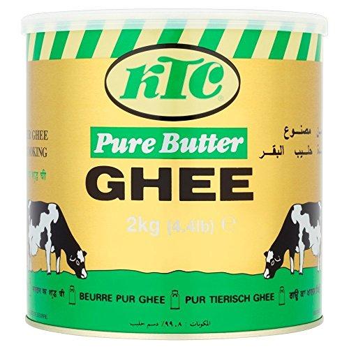 KTC Ghee de mantequilla pura - 3 x 2kg