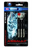 Winmau Assault 90% Tungsten Professional-Level Steel Tip Aluminum Shafts and Embossed Standard Flights for Darts (24-Gram)