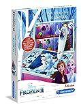 Clementoni- Frozen 2 Juego Interactivo para Niños, Multicolor, único (55327)
