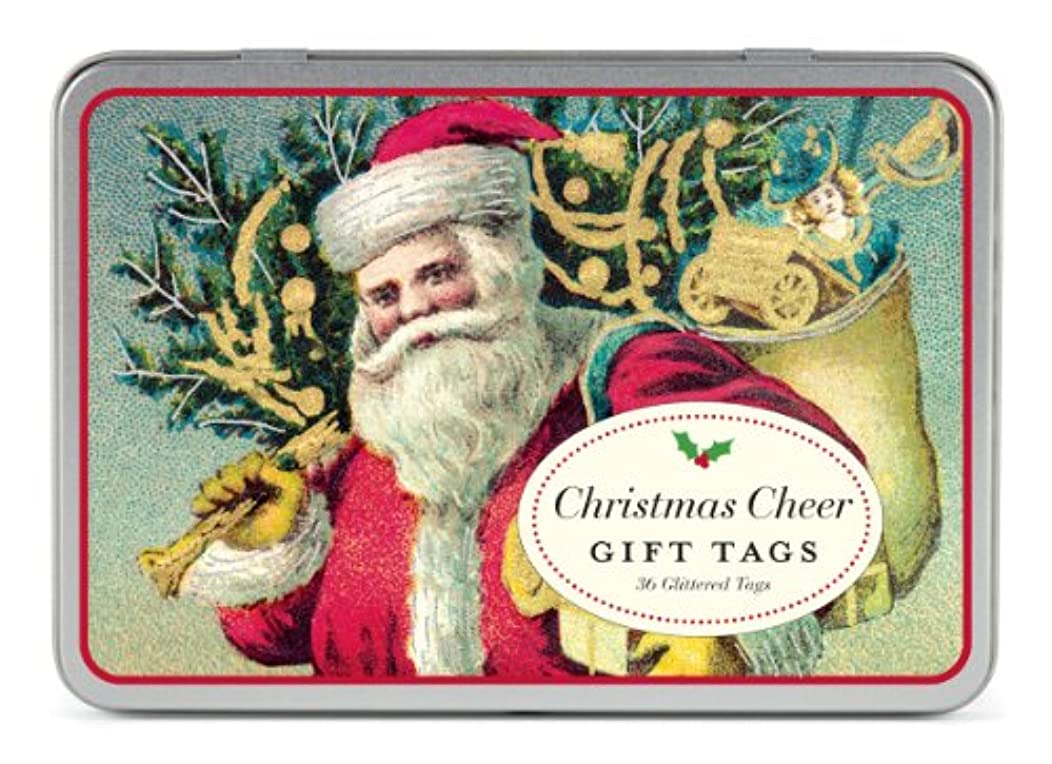 Cavallini & Co. Christmas Santa Gift Tags