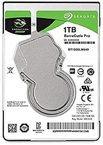 Seagate Technology Barracuda Pro 1TB 2,5'' 128MB ST1000LM049