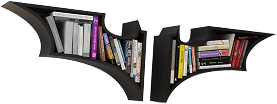 Chang Xiang Ya Shop Librerías Estantería de Pared Batman Estilo Estante de la Sala Colgar en la Pared Estante Creativo decoración Enrejado celosía ...