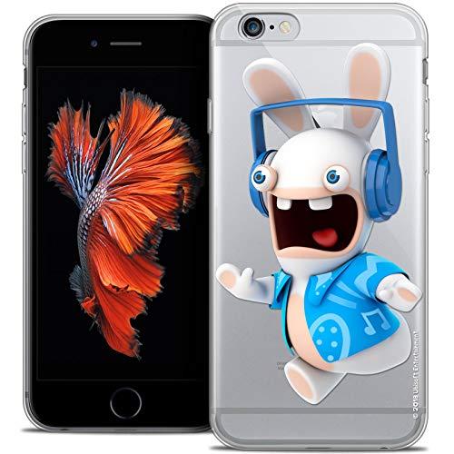 Techno - Cover per Apple iPhone 6/6S, ultra sottile, motivo: coniglietti